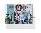Photo Christmas Card, holiday card, Christmas card, family photo card, Holiday cards Merry Christmas Card