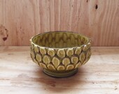 Caffco Pottery Bowl/Planter/Candy Dish in Avocado