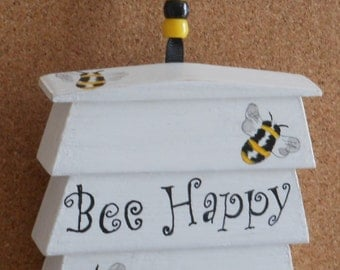 Bee hive hanger/wall decoration/plaque