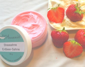Shea butter Strawberry Cream