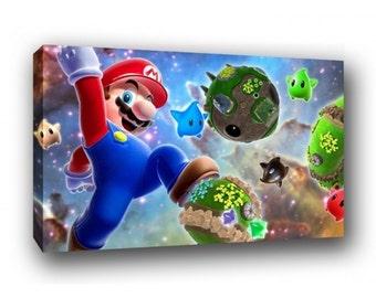 Super Mario Bros Canvas Art Print A1 A2 A3 A4
