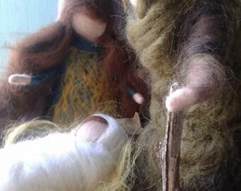Nativity, waldorf inspired