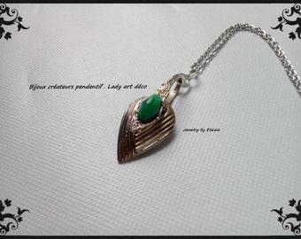 pendant jewelry designers. Art Deco Lady