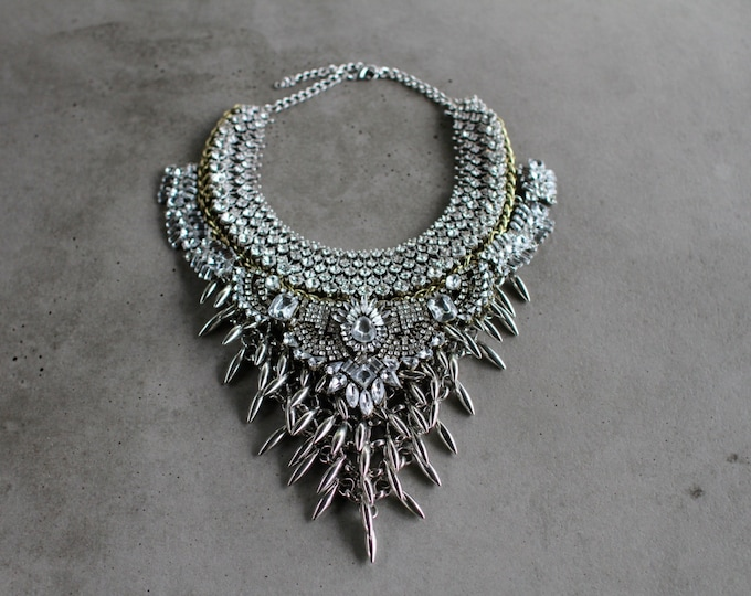 Featured listing image: Statement Necklace - Handcrafted: Harlem.