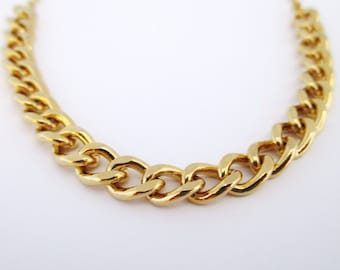 Chunky gold necklace, Chunky necklace,Gold necklace,Gold chunky necklace,Gold chain necklace,Gold necklace chain,Chain necklace,Chunky chain
