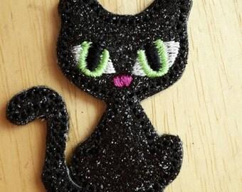 Black Cat Paper Clip