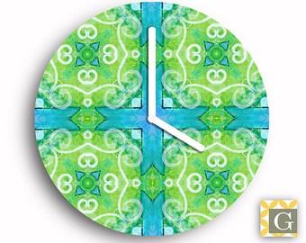 Wall Clock by GABBYClocks - Geometric No. 2
