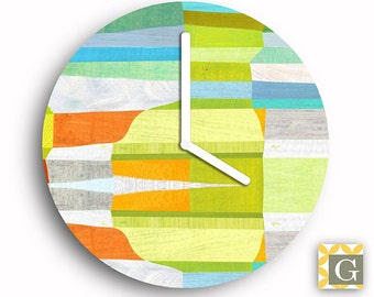 Wall Clock by GABBYClocks - Sunshine Fractal Grande