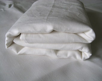 Organic 100% Linen Duvet Comforter Cover White Pure Linen Flax Bedding Twin Full Double Queen Super King Kalifornia Single Euro Quilt Doona