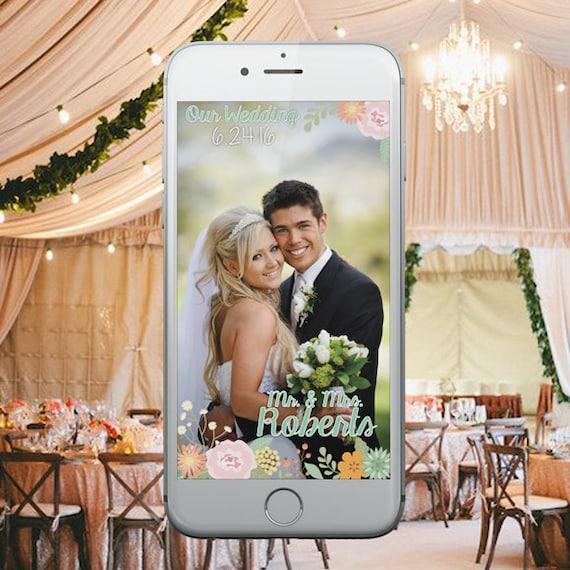 items similar to custom wedding geofilter floral wedding snapchat geofilter chalkboard. Black Bedroom Furniture Sets. Home Design Ideas