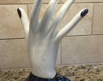 Ceramic hand ring/jewelry holder