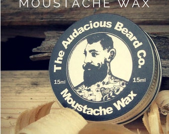Moustache wax - The Audacious Beard Co