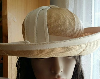 Vintage Spring Hat Headwear Thoroughly Modern Millie goes on a Safari