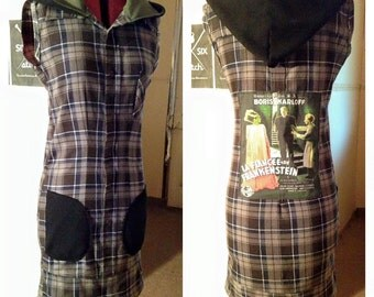 Bride of Frankenstein Shirt Dress