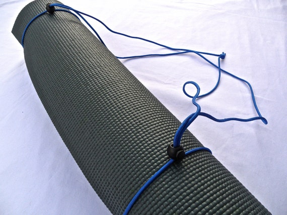 3N1 Yoga Mat Strap, FREE SHIPPING On All U.S. Orders- Sky Blue- Yoga Mat Sling, Yoga Mat Carrier, Yoga Mat Holder, Yoga Mat Tote
