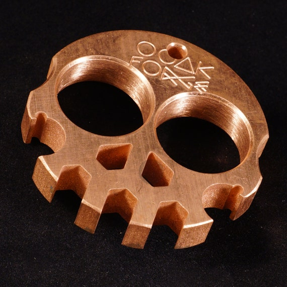 Compact Copper Skully Multi-Tool