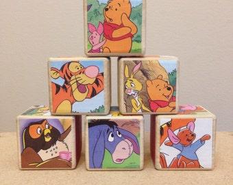 Winnie the Pooh storybook blocks