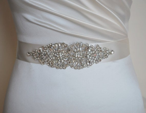 diamante sash wedding dress belt wedding dress