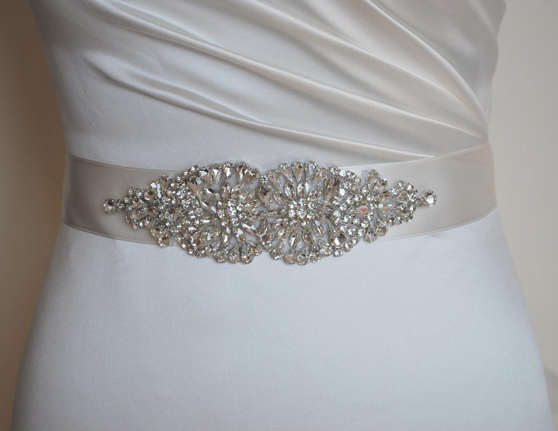 diamante sash wedding dress belt wedding dress