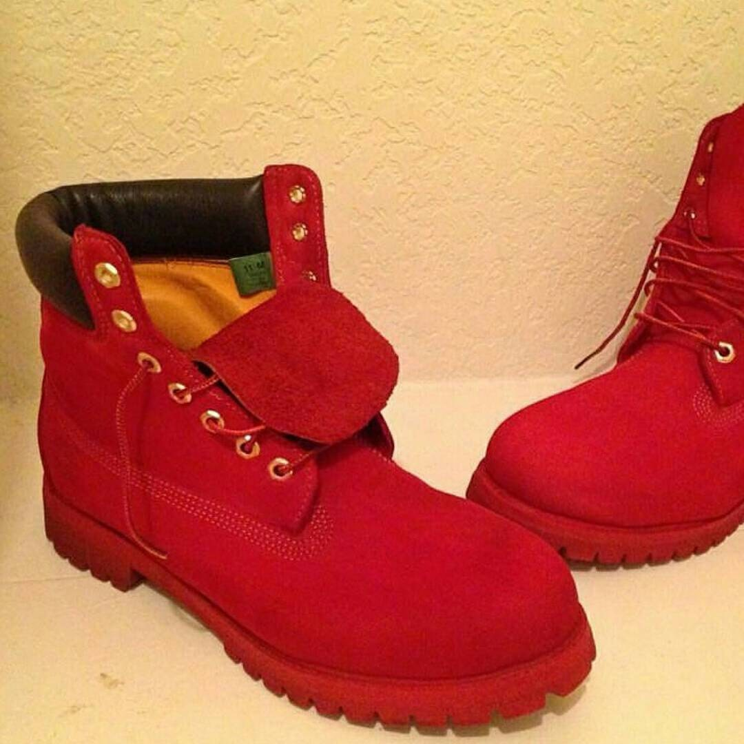Custom Colored Timberland Boots Men Size by RosaCreativeSoul