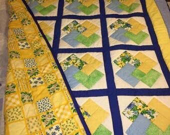 My Garden twin quilt