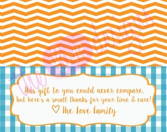 Thank You Nurse Gifts for Labor & Delivery