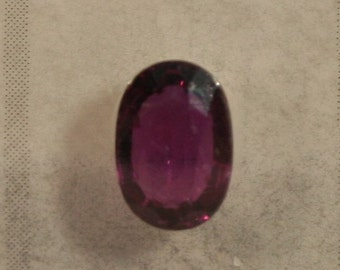 1.28ct Natural Ruby Oval