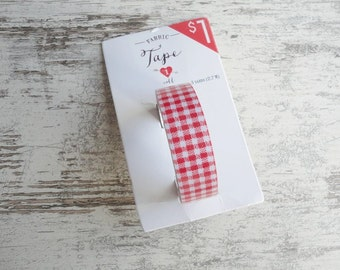 "Fabric tape ""red"""