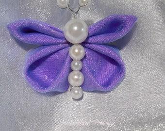 Purple Butterfly, Kanzashi style