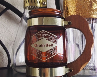 Vintage Grain Belt Beer Mug