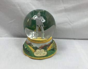Wizard of Oz Tinman Musical Waterglobe If I Only Had A Heart