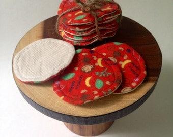 Reusable Cotton Rounds, Washable Make-Up Removers, Reusable Facial Pads, Reusable Cotton Pads, Toner Applicators