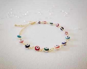 Evil eye bracelets/ turkish / friendship bracelets