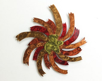 Sunburst Metal Wall Art - Large - (EE2l-a)