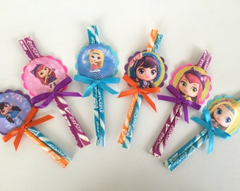 Little Charmers Inspired Pixie Dust  Party  favors....Goodie bag..SET OF 6