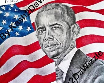 Barack Obama #Portrait #President