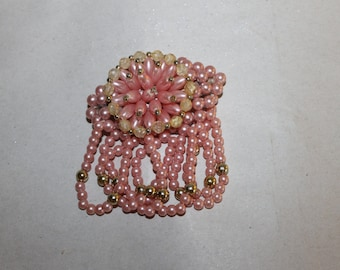 Vintage Broach, Fashion Accessories, Pin, Gift, Holidays, Hair Piece, Hair Pin, Collectible, Jewelry, Pink, Hair Clip, Clip,  NICE, Pretty