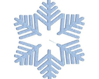Machine Embroidery Design Frozen Snowflake