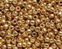10g Toho Seeds Beads 11/0 Permanent Finish Galvanized Starlight TR-11-PF557 size 11