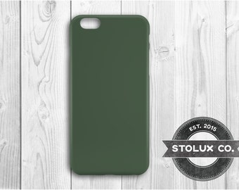 Army Green iPhone 6 Case, iPhone 6s Case, iPhone 6s Plus, Army Green, Green, iPhone case, Army Green Case, Green iPhone 6 case