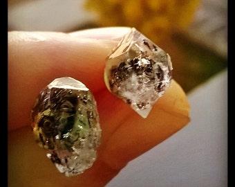 herkimerdiamond ring or earrings