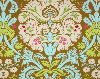 Amy Butler Belle Acanthus Olive Fabric by 1 yard