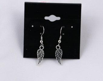 Wings Earrings - Silver