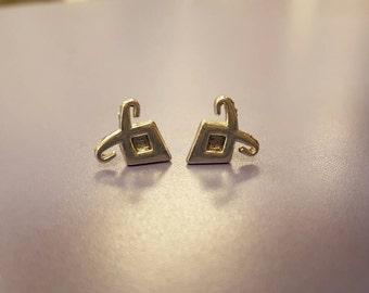Shadowhunter Anglic rune earrings