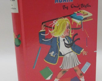 Vintage 1970s Children's Book - The Naughtiest Girl Again by Enid Blyton