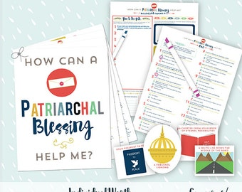 May {Come Follow Me} How can a Patriarchal Blessing help me? Teaching Package
