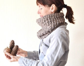 chunky cowl scarf christmas gift|for|women crochet cowl crochet scarf chunky scarf winter cowl loop scarf cowl neck warmer birthday gift