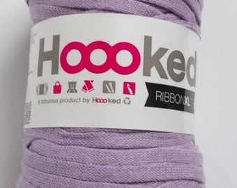 Hoooked RibbonXL , lilac, 120m per roll (0,08 Euro/m), textile-yarn