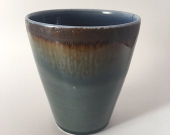 Porcelain latte cup