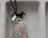 Fordite/Detroit Agate small pendant
